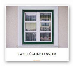 2flügel-Fenster